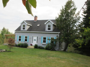 3 bedroom Cape Cod style house just outside St Stephen