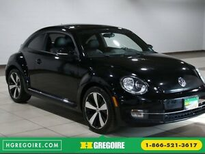 2013 Volkswagen BEETLE 2.0T Turbo AUTO A/C CUIR TOIT MAGS NAV