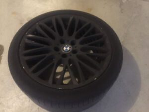 """BMW: Rims and Tires - 20"""" OEM"""