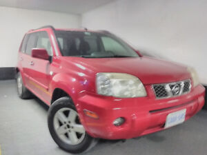 2005 Nissan X-trail AWD safe reliable car with moonroof VIDEO
