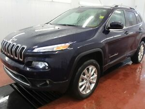 2015 Jeep Cherokee Limited  - Leather Seats -  Bluetooth - $201.