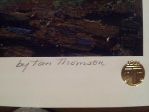 """Limited Edition """"Black Spruce in Autumn"""" by Tom Thomson Stratford Kitchener Area image 4"""