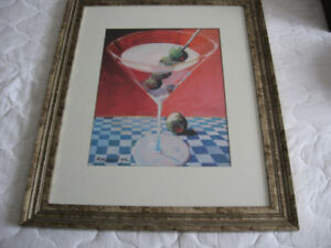 Martini picture, Set and plates