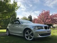 BMW 118 118d SPORT (silver) 2010
