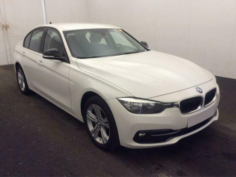 2016 WHITE BMW 320D 2 0 SPORT DIESEL MANUAL 4DR SALOON CAR FINANCE FR £67  PW | in Warrington, Cheshire | Gumtree