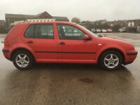 VW GOLF 1.6 SE 5 Door F/S/H 113K Miles