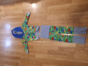 $15.00 sweater and pants set for cloth diapers 2t to 3t