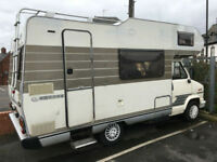 HYMER MOTORHOME 5 Berth diesel with low mileage and long MOT
