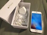 Apple iPhone 6 16gb gold white UNLOCKED