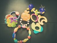 Teething toys collection