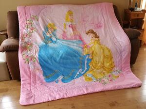Literie pour fillette (draps pour lit simple)