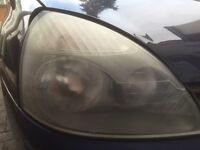 Renault Clio 1.2 2004 front headlights