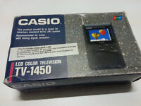 Casio LCD TV with adapter – TV-1450
