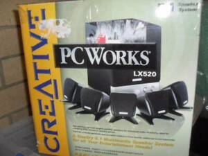 Speaker system Creative PC Works LX 520 5.1 missing power supply