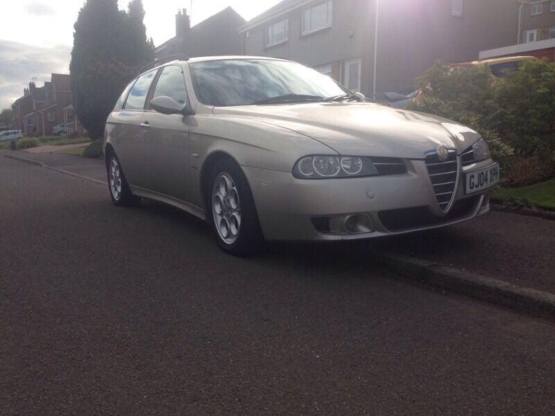 alfa romeo 156 2 4 20v jtd 175ps diesel sportwagon extremely rare not mondeo passat vectra. Black Bedroom Furniture Sets. Home Design Ideas