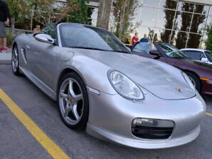 **PRICE REDUCED** 2005 Porsche Boxster (5 Speed)