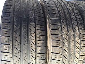 4 pneus Dunlop SP 5000 grandeur 225 45 19. Bon pour un été ou re