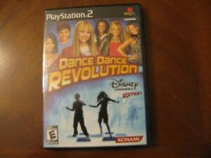 DANCE DANCE REVOLUTION PS2 GAME