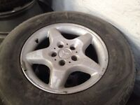 """17"""" Mercedes ML with tyres"""