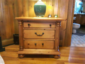 Pine Bed Room Table