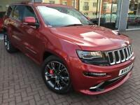 2014 Jeep Grand Cherokee HEMI SRT8 Petrol red Automatic