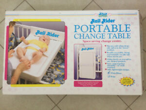 Jolly Jumper Rail Rider Portable Change Table