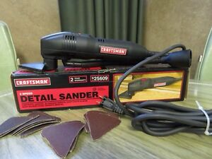 Craftsman 2 speed Detail Sander Strathcona County Edmonton Area image 1