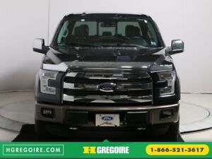 2015 Ford F150 Lariat 4WD CUIT TOIT NAVIGATION MAGS