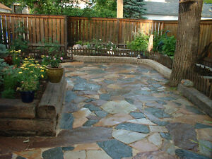 Flagstone Patios & Walkways