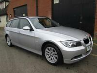 2007 BMW 318 2.0 TOURING ESTATE 6 SPEED MANUAL SILVER