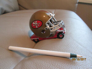 Football die cast car..  Limited edition...