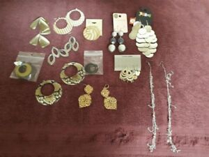 for sale large lot of costume jewellery asking $30.00 for all