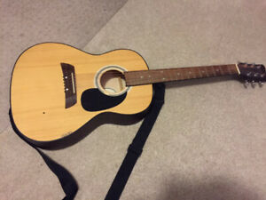 40$ First Act 6 String MG394 Acoustic Guitar, Right Handed