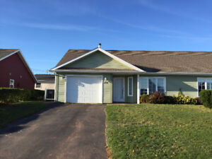 One level duplex for rent in Summerside