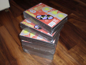new double dvd cases holdes 36 dvds OR CDS...