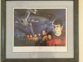 Signed Limited Edition Star Trek Picture