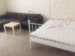 IKEA Queensize bed and double size bed and sofa and other Ultimo Inner Sydney Preview