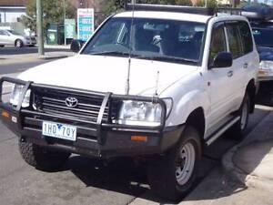2002 Toyota LandCruiser 4x4 Diesel + REG & RWC Brunswick East Moreland Area Preview