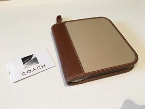 Coach Leather CD/DVD Wallet