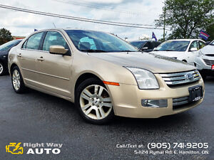 2008 Ford Fusion SEL   LEATHER SEATS