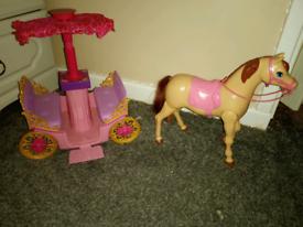 Barbie doll items