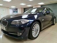 BMW 5 Series 3.0 530d SE Blue Auto Leather 241BHP DIESEL WARRANTY 12 MONTHS MOT