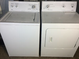 Kenmore Matching Washer and Dryer, Free 30 Day Warranty