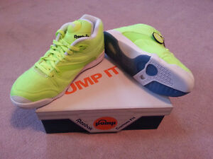 Alife Reebok Victory Court Pump Ball Out Size 10 Neon Tennis