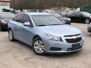 2012 Chevrolet Cruze LOW KMS LT Turbo Power Group Cruise A/C