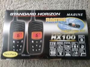 Set of 2 marine radios