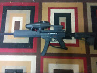 Tippman X7 E-Grip + Mods + Nitro tank