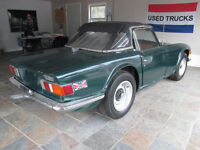 1972 Triumph TR6 with overdrive!