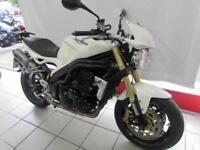 TRIUMPH SPEED TRIPLE 1050, 56 REG 12119 MILES, QUILL EXHAUST CANS, SCOTOILER...