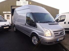 Ford Transit Trend motorbike transporter/ recovery van 1 owner fsh